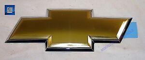 06-09 Trailblazer 05-09 Uplander Front Facia Grill Gold Bowtie Emblem NEW GM 223