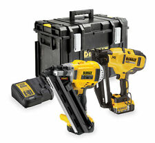 DEWALT DCK264P2-GB 18V XR Cordless Brushless Nailer  2 x 5.0Ah Li-io - Twin Pack