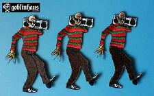 FREDDY KRUEGER - Embroidered PATCH - A Nightmare on Elm Street - HORROR - 80s