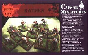 Caesar Miniatures 1/72 Ratmen # F108