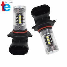 Fog Lights bulbs 6000K White 80W LED Bulbs 9145 CA Fit For Toyota Tacoma 05-11
