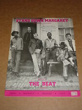 "The Beat ""Stand Down Margaret"" Two Tone sheet music"
