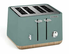 Morphy Richards Scandi Aspect 4 Slice Toaster - Teal