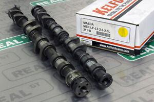 Kelford Camshafts 260/242 9.80mm/8.50mm for NC Miata Mazda 3 MZR 2.0L LF-VE