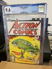 Action Comics #1 DC CGC 9.6