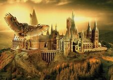 Hogwarts Owl School Poster, Harry Potter Photo Picture Print ONLY Wall Art A4