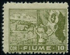 Italy 1919 stamps Fiume MH Sas 48 CV $66.00 181110043