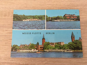 AK - Weisse Flotte Berlin Binnenschiff DDR