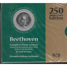 BEETHOVEN COMPLETE PIANO SONATAS Lubimov Martynov Koreneva Miller Zuev 9CD BOX