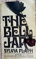 The Bell Jar by Sylvia Plath by Bantam Books Paperback 1976 21st Printing VGC