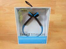 Aftershokz Trekz Titanium Wireless Running Bone Conduction Headphones - Blue