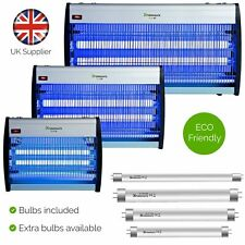 More details for xterminate electric fly zapper insect killer bug wasp electronic uv light bulbs