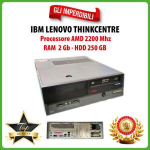 PC Computer Desktop IBM Lenovo Thinkcentre RAM 2GB HDD 250GB AMD CPU 2200 MHZ