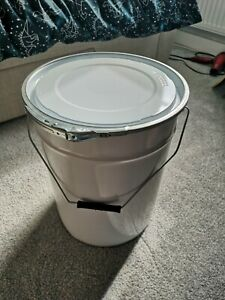 20L UN Approved Tinplate/Bucket/Container/Pail + Lid - imperfect/damaged