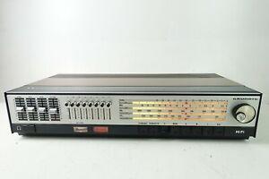 Grundig RTV 800 3 Band Stereo Receiver 7 Presets 2x20W 70er Jahre Hi-1357