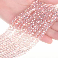 93pcs 4x6mm  Free Shipping Jewelry  Roundelle Crystal Beads  #X.2