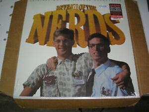 v/a - Revenge Of The Nerds OST LP new sealed Real Gone Music colored vinyl
