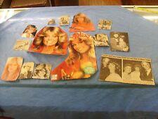 Vintage Farrah Fawcett  Photos from  Magazine sheets clips nice various lot / f3
