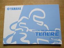 Manual del propietario Yamaha XT 660 Z  Tenere (11D) Fahrerhandbuch