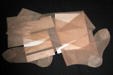 "BAS PJ T 3 (78 cm) FRANCE "" DD JUNIOR 2x15 "" BEIGE NYLON LISSE LINGERIE VINTAGE"