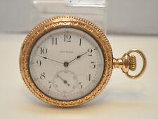 Circa 1896 Waltham 12s Demi-Hunter GP Case Riverside 17j Model:1894 Pocket Watch