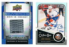 2015-16 Upper Deck Buyback Autograph 2011-12 O-Pee-Chee #438 John Tavares 07/20