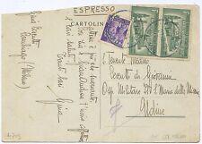 REPUBBLICA SOCIALE - COPPIA 1,25 ESPRESSO 1944