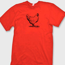 CHICKEN Hen Chick Rooster T-shirt Fresh Eggs Funny Farm Nuggets Tee Shirt