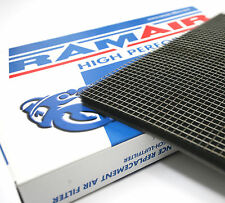 RAMAIR High Flow Panel Air Filter Foam Material + Stainless Steel Cage Mesh