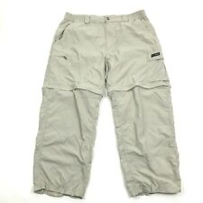 Columbia GRT Mens Convertible Pants Size L PACKABLE OMNI-DRI Nylon 26 Inseam