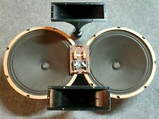"Make offer! Magnavox 15"" Alnico Speakers, Horns, and Crossover 1960's Console"