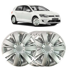 """4 X 14"""" SOLID SILVER WHEEL TRIM COVER FITS VW PASSAT, GOLF, POLO 2000 ONWARD"""