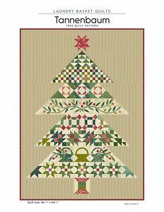Tannenbaum Tree Quilt Pattern by Edyta Sitar Laundry Basket Quilts