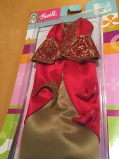New 2003 BARBIE Mattel Fashion Medieval Wedding Dress Shoes Crown Outfit Set