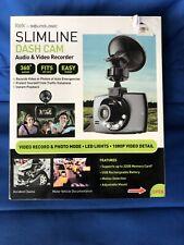 New listing Itek by Soundlogic Slimline Dash Cam Audio/Video Recorder 360 Swivel Brand New!