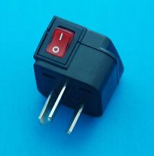 Wonpro Universal USA UK EU to Australia China Travel AC Power Plug Adapter New