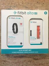 New Fitbit Alta HR Gift Set With Extra Band Size Small Fitness Wristband Watch