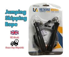Adjustable Metal Speed Skipping Rope Boxing Gym Jump Cross fit Exercise Fitness