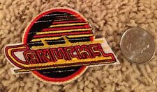 Vancouver Canucks NHL Stitched Hat Shirt Hockey Crest Patch 2.75 x 2 inch Small