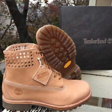 Timberland X Horween 6-in Premium Perforated Collar Bare Naked A1bbj Sz 12