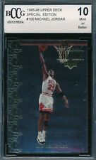 MICHAEL JORDAN 1995-96 UPPER DECK SPECIAL EDITION GOLD BCCG 10 CARD #100 BGS!
