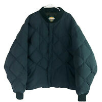 Vintage Cabelas Premier Northern Goose Down Puffer Coat Mens 5XL Green Quilted