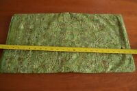 By 1/2 Yd, Brown on Green Quilting Batik, Moda/Over the Rainbow/41014-46, M9043