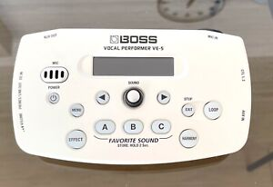 BOSS VE-5 WH Vocal Performer Effect Processor White