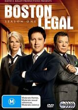 Boston Legal : Season 1 (DVD, 5-Disc) R-4, LIKE NEW, FREE POST IN AUSTRALIA