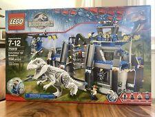 LEGO 75919 Jurassic World Indominus Rex Breakout Park Retired See Pics Great Box