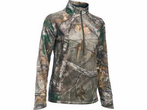 Under Armour 1283059 Realtree Xtra  Camp 1/2 Zip Women Jacket NEW Size XXL