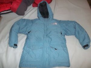 AWESOME The North Face McMurdo Arctic Alaska Goose Down Parka Jacket Coat TNF Md
