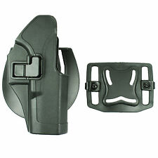 Quick Tactical Right Hand Paddle Pistol Holster for Glock 17 22 31 New - Black