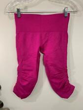 * Lululemon Size 4 In The Flow Crop PINK Women's Capri Leggings